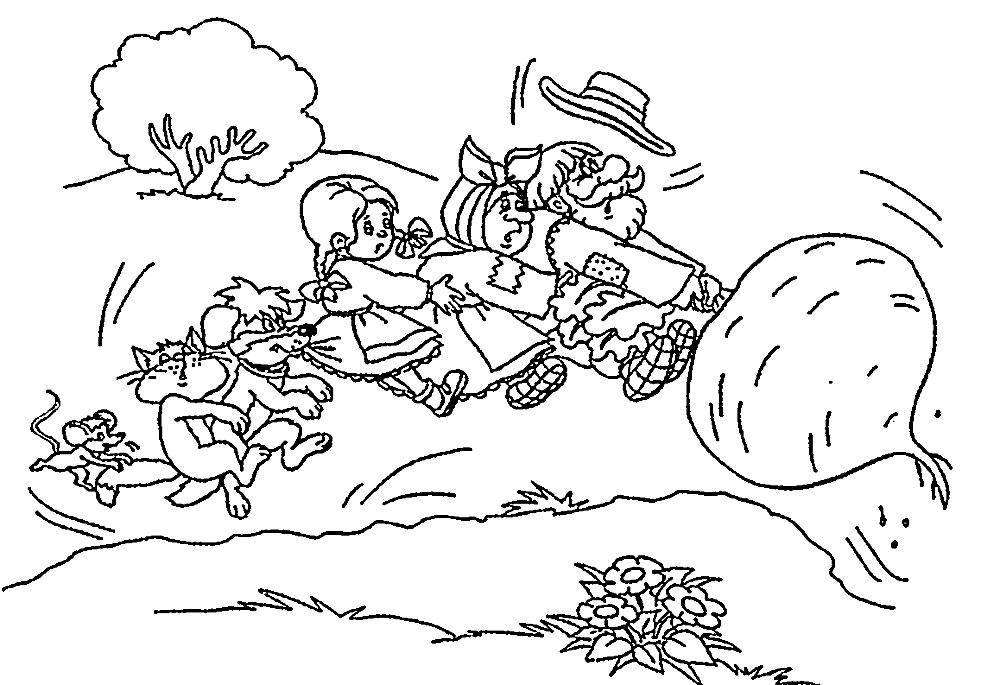 раскраски с героями сказок для девочек