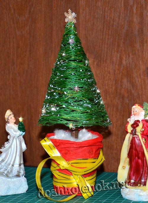 Как сделать елку своими руками на