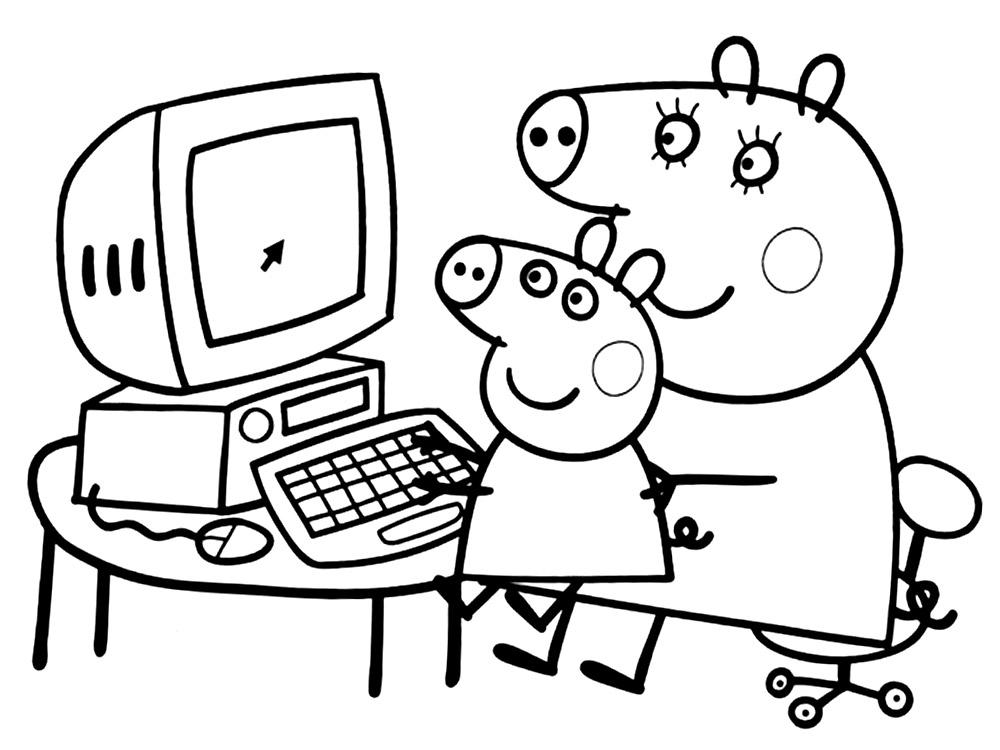 картинки свинка пеппа для детей