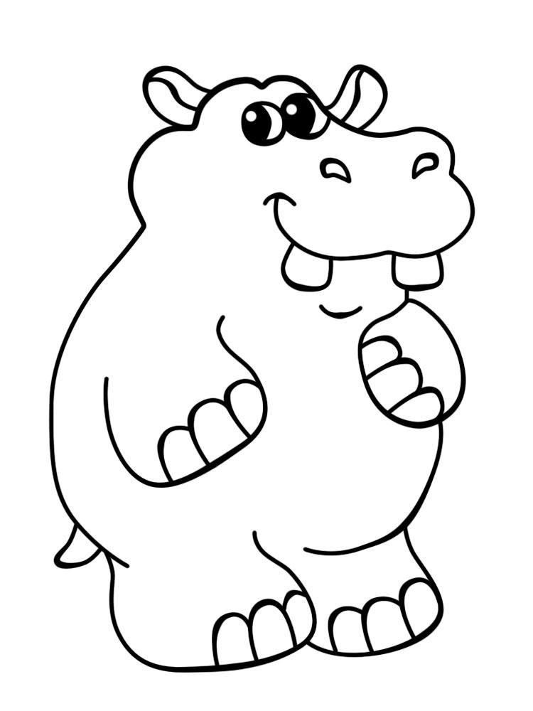 Раскраска для мальчиков животные распечатать - 2