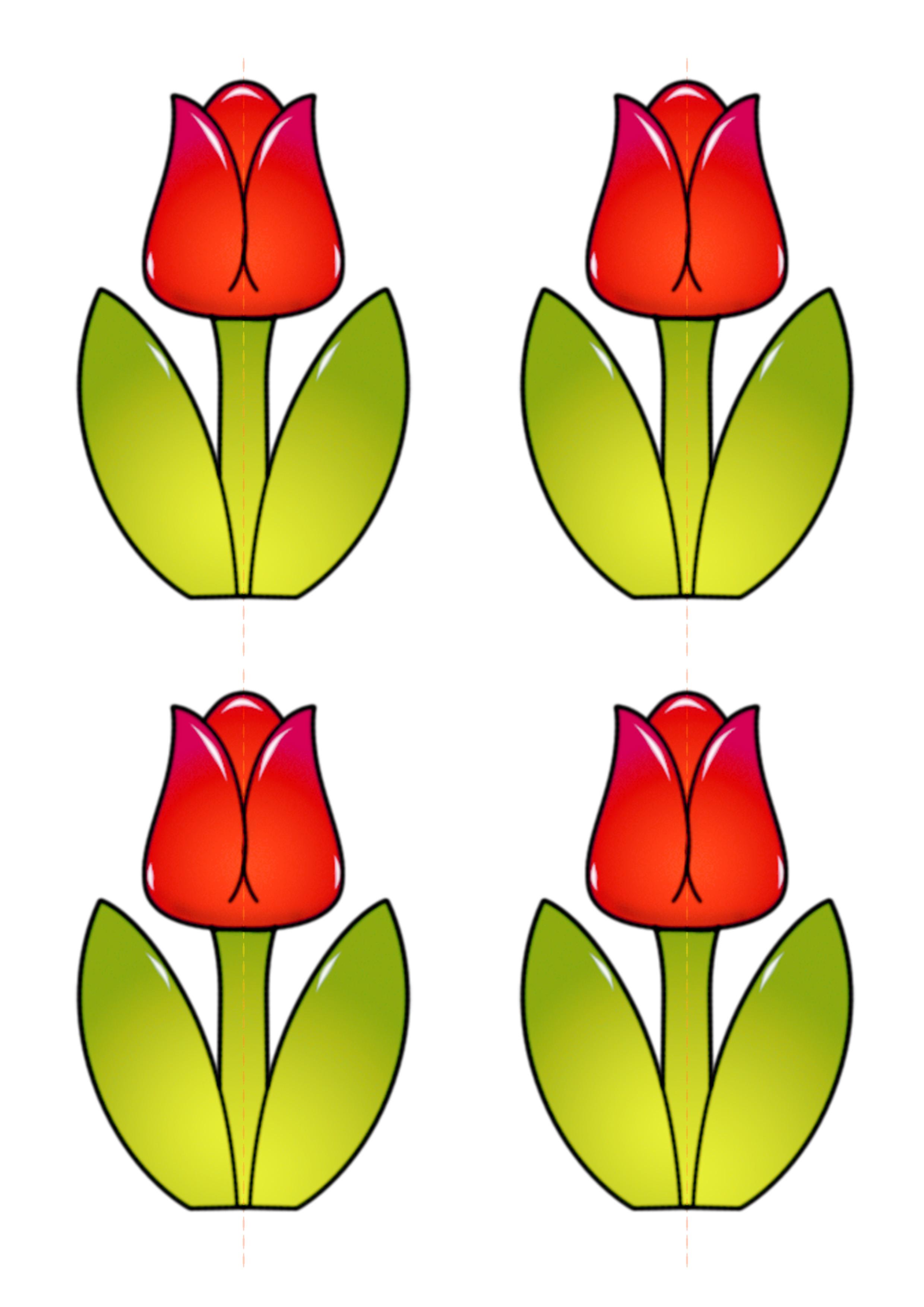 Оригами. Тюльпан - Детские уроки 18