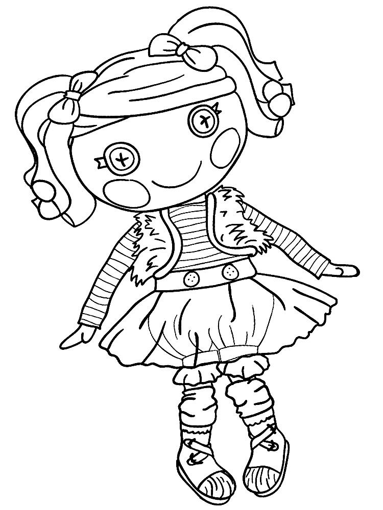 Картинки раскраски для девочек куклы