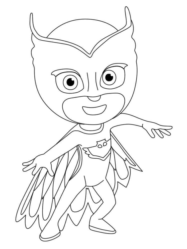 раскраски с героями в масках для детей